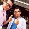 ★DALIAN(ダリアン)麻布十番店:朱料理長と油そば、そして大阪から来客第1号!★