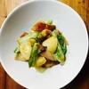 ハムとちくわと白菜の炒め煮