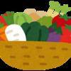 2-149   畑の野菜とり大会にて…