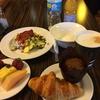 朝食:Hilton Baltimoreのエグゼクティブラウンジ(Baltimore, USA)