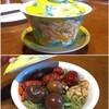 北方のおにく祭りとお茶🍖🍵(・Θ・)
