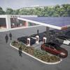 Tesla社の高速充電ステーション(Superchargers)