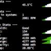 MacのCPU温度、ファンスピードなどをターミナル表示する方法