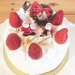 【2018年版】友達にも教えたい!千葉エリアでおすすめのクリスマスケーキ6選!