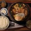 田田の豚ロースカツ煮定食