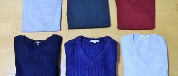 秋冬に着まわすトップスはユニクロ/無印良品の服が今年も活躍