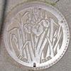 長野県諏訪市のマンホール