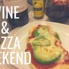 週末はホームメイドピザでワインな気分❤︎