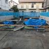 工事開始後2週間 基礎工事の進捗