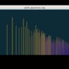 振幅スペクトルのリアルタイム可視化