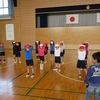 1年生:体育 大きな声で準備運動