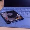 Lenovo ideapad slim 550 (14)AMDのM.2空きスロットにSSDを追加してみたよ