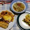 幸運な病のレシピ( 2436 )夜:トマトミートグラタン、ロース肉のニンニク巻、チーズも巻いた