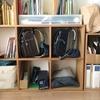 「専用」家具はなるべく買わない。わが家のランドセル置き場は「本棚の一部」です