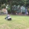 台南  広場の草刈りです