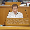 25日、宮川議員が代表質問。汚染水海洋放出に知事は反対言わず。
