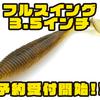 【レイドジャパン】野池などでも活躍してくれるシャッドテール「フルスイング3.5インチ」通販予約受付開始!