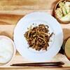 牛肉と筍の塩昆布炒め