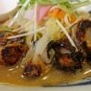 「 長崎ちゃんぽん リンガーハット 」焼き牡蠣をちゃんぽんに乗せたかきちゃんぽんを頼んだら焦げた牡蠣が出てきた・・・