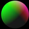 【GLSL】球とRGBの光源