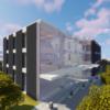 低層オフィスビルを建てる【Minecraft】