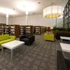 田舎に似つかわしくない充実した設備!カブルチャー図書館