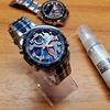 【腕時計のキズ対策】CRYSTAL GUARDを塗ってみた