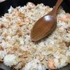 塩サケの焼き飯