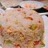脂の旨味が強めの炒飯も美味しいです。ギトギトし過ぎていないのがポイント。