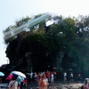 インドネシア旅行記【バリ編】 Tanah Lot Temple 海に浮かぶタナロット寺院へ いよいよ寺院を散策してみた