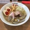 【大阪府大東市】「魚貝中華そば 鶏さき貝ぢ」魚貝の風味抜群のあさり塩そばを食べてきました
