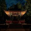 江戸東京たてもの園ライトアップ(昨年の様子です)Part1