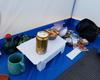 超軽量テーブル「カスケードワイルド フォールディングテーブル」の使用感レポ  その後セリア製コピー品も購入