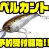 【EVERGREEN】スリムシェイプクランクベイト「ベルカント」通販予約受付開始!