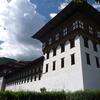 タシチョ・ゾンとブータン国王の家@ブータン