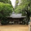 竹原神社の桜パネル・・