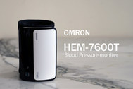 【オムロン】こんなカッコイイ血圧計があった! HEM-7600T レビュー