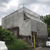 6月16日 蒲生郡N様邸 外壁塗装着工しました!