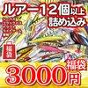 3000円で12個以上のルアーが入った「サニールアーズ2021年福袋」発売!