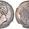 イギリス1826年クラウン銀貨ジョージ4世NGC PR62