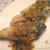 韓国魚料理 焼きサバの唐辛子ソース添え