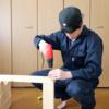 OSB合板と2X4材を使って初めての棚づくり【DIY】