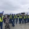 11月20日(水)塩川港抗議行動