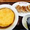 大阪王将 阪急桂駅前店で天津飯と餃子のセットを食べてきました。