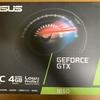 【ロープロファイル対応グラボ・】ASUS GTX1650-O4G-LP-BRKの取付けとレビュー