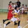 バスケ・ミニバス写真館73 一眼レフで撮影したバスケットボール試合の写真 連写