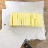 包丁を汚さないバターの裏技的切り方!と、保存方法。