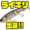 【カエス】前回即完の浮力調整出来るビッグベイト「ライキリ」出荷!