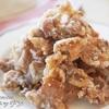 【ザックザク食感でめちゃ旨!】漬け込みなしで超簡単な『豚こま唐揚げ〜塩マヨ〜』の作り方