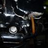 F9 キャブストッパー交換とドレングロメット暫定仕様